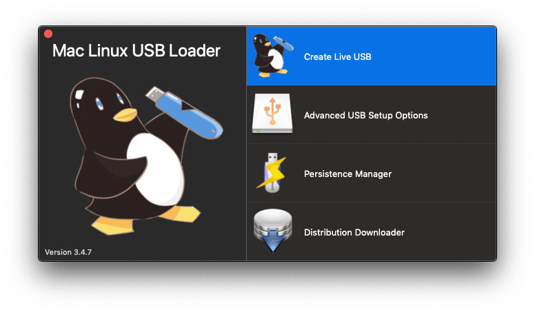 mac linux usb loader how to use